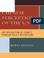 Chinese Perceptions of the U.S.