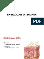 EMBRIOLOGI INTEGUMEN 1
