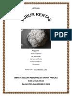 LAPORAN BUBUR KERTAS.docx