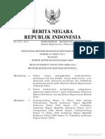 Eraturan Menteri Kesehatan Republik Indonesia