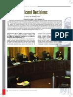 2011 SIGNIFICANT SC DECISIONS