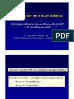 Anticoncepcion en La Mujer Diabetica