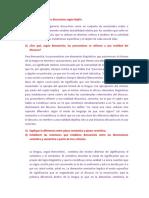 Parcial Linguística Preguntas Instituto superior de formación docente y técnica Leopoldo marechal