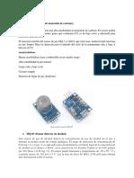 Marco Teórico Sensores de gas Arduino