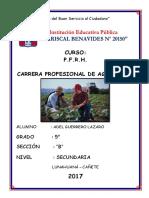 Carrera Profesional de Agronomia 2 De2