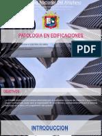 Patologia en Edificaciones