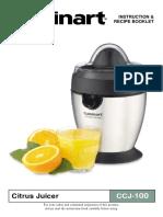 Cuisinart CCJ 100 Citrus Juicer