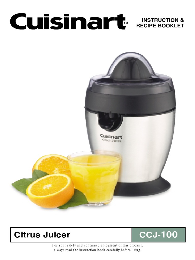 Search cuisinart citrus juicer cjp200 user manuals | manualsonline.