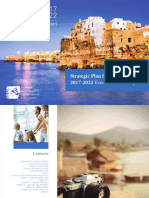 Italian Cultural and Heritage Tourism Policy Document Strategic Plan