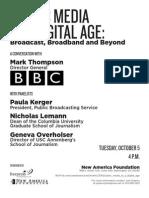 Public Media in a Digital Age