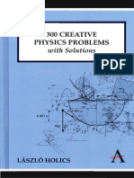 [Anthem Learning] László Holics - 300 Creative Physics Problems with Solutions (2010, Anthem Press)