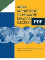 National Democratic Institute Media Monitoring Guide