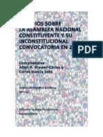 Estudios sobre la Asamblea Nacional Constituyente y su Inconstitucional Convocatoria en 2017 (Allan Brewer Carias y Otros)