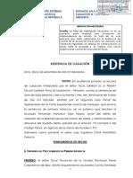 Casacion 392-2016- Imputacion Necesaria y Excepción de Improcedencia de Acción- Marzo Del 2018