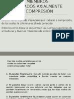 Diseño de Acero - Diseño de Miembros a Compresion - Andrade