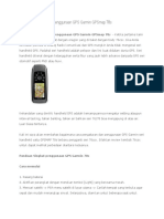 Tutorial Lengkap Cara Penggunaan GPS Garmin GPSmap 78s
