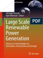(Green Energy and Technology) Jahangir Hossain, Apel Mahmud-Large Scale Renewable Power Generation_ Advances in Technologies for Generation, Transmission and Storage-Springer (2014)