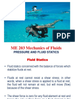 ME 203 -Fluid Statics