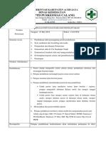Notulen Pembinaan Petugas Pendaftaran