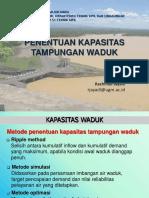 Penentuan Kapasitas Waduk.pdf