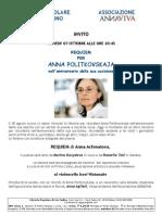 Requiem per Anna Politkovskaja