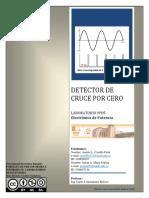 Informe Cruce x Cero