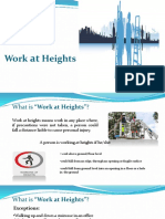 Work at Heights