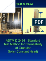 ASTM D 2434(Contant Head Method)