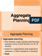 Lecture in OPRMGMT 7 Aggregate Planning