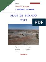 259289347 Plan de Minado Esperanza 2013