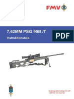 FMV 7,62MM PSG 90B-T Instrutionsbok
