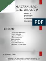 Animation and Virtual reality