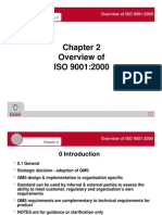 Chapter 2 - Overview of ISO 9001 2000