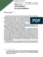 SEGERT STANISLAV Rel 1994-2 Masoretes  and Translators - Karaites and Czech Brethren.pdf