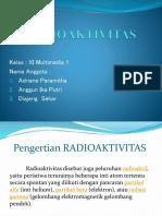 RADIOAKTIVITAS Presentasi