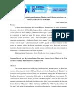 As Várias Formas de Cassiano Ricardo (Martim Cererê) Ver e Escrever o Brasil