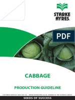 Cabbage Production Guideline 2014