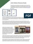 Tips Menyeleksi Arsitek Sebelum Menyusun Rumah