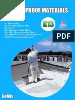 K13 High-Flex Waterproofing Slurry