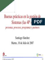 Buenas Practicas Santi Sanchez