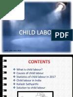 Child Labour, Causes & Solution