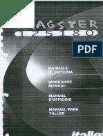 Italjet Dragster 125 180 Workshop Manual