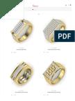 Men's Diamond Ring Designs