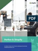 Perfion & Shopify statten Ihren Out-of-the-Box Webshop mit wertvollen Produktinformationen aus