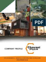Chavani Company Folder