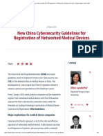 New China Cybersecurity Guidelines for Registration of Networked Medical Devices _ Insight _ Baker McKenzie