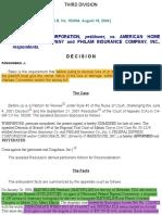 (2)Fedex vs American Home Assurance Co