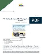 _Molalitas & Fraksi Mol_ Pengertian & ( Contoh - Rumus ).pdf