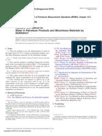 ASTM D95-05 (Metodo de prueba estandar para agua en productos del petroleo y materiales bituminosos por destilación).pdf