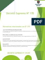 decreto 170 y 83